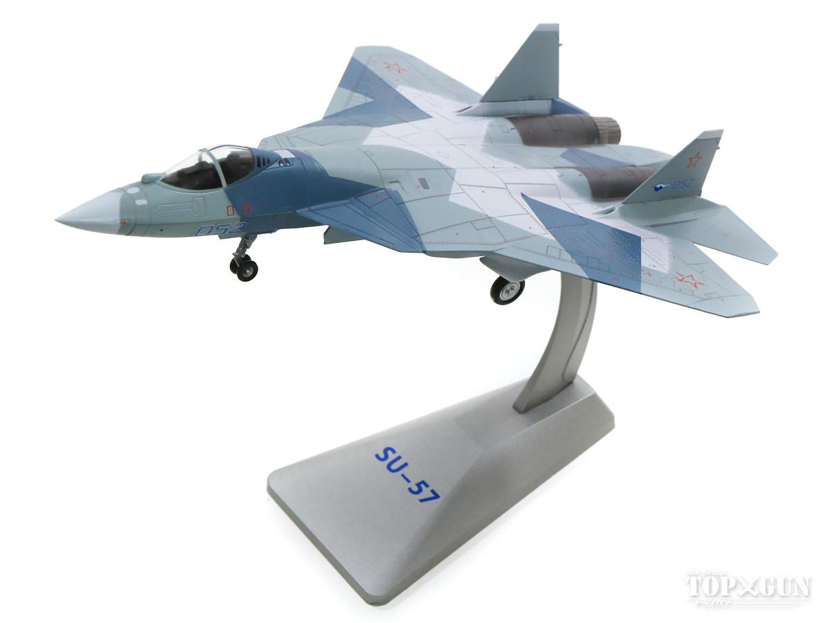 Su-57(T-50) ロシア空軍 試作2号機 青色迷彩 #052 1/72 ※新金型 2019年10月19日発売 AIR FORCE1/エアフォースワン 飛行機/模型/完成品 [AF0011]