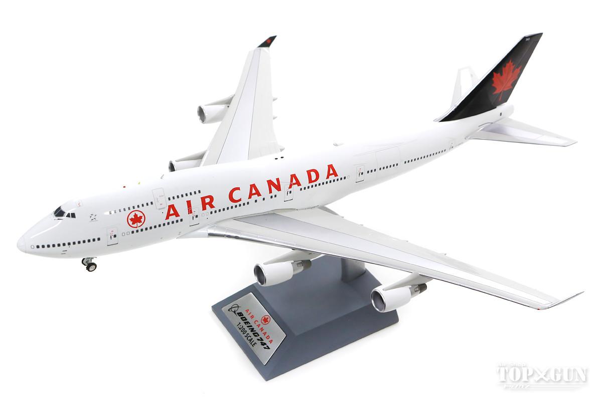 747-400 エアカナダ C-GAGN With Stand 1/200 ※金属製 2019年12月12日発売B-Models飛行機/模型/完成品 [B-744-AC-08]