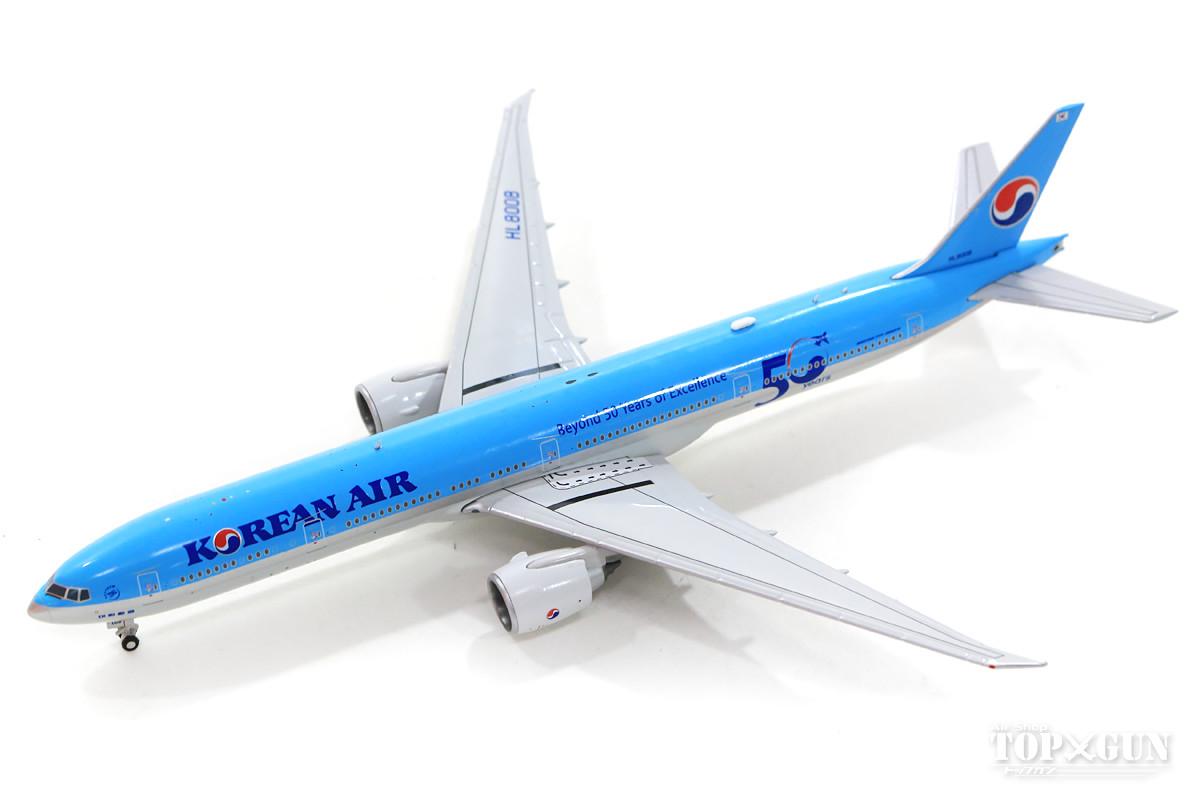 ボーイング 777-300ER 大韓航空「Beyond 50 Years of Excellence」HL8008 With Antenna 1/400 2019年11月1日発売JCWINGS飛行機/模型/完成品 [EW477W002]