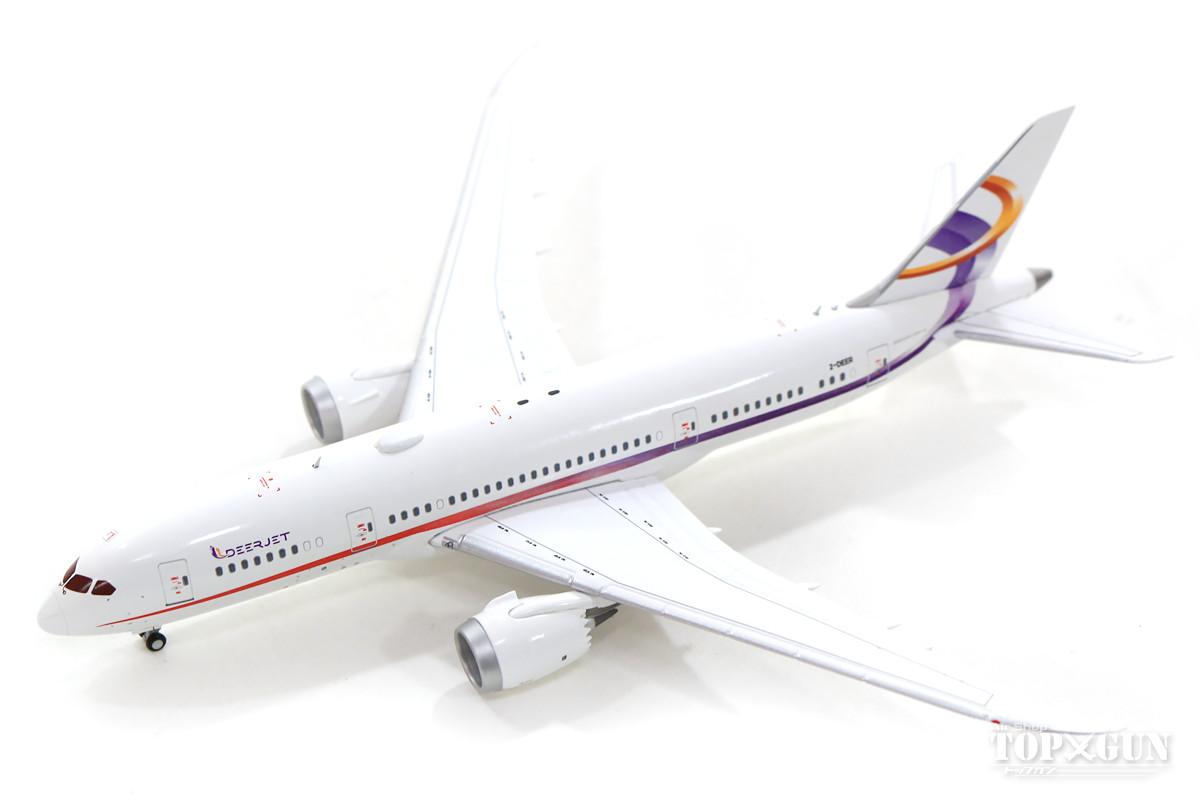 ボーイング 787-8(BBJ) 金鹿航空 2-DEER With Antenna 1/400 2019年11月1日発売JCWINGS飛行機/模型/完成品 [EW4788002]
