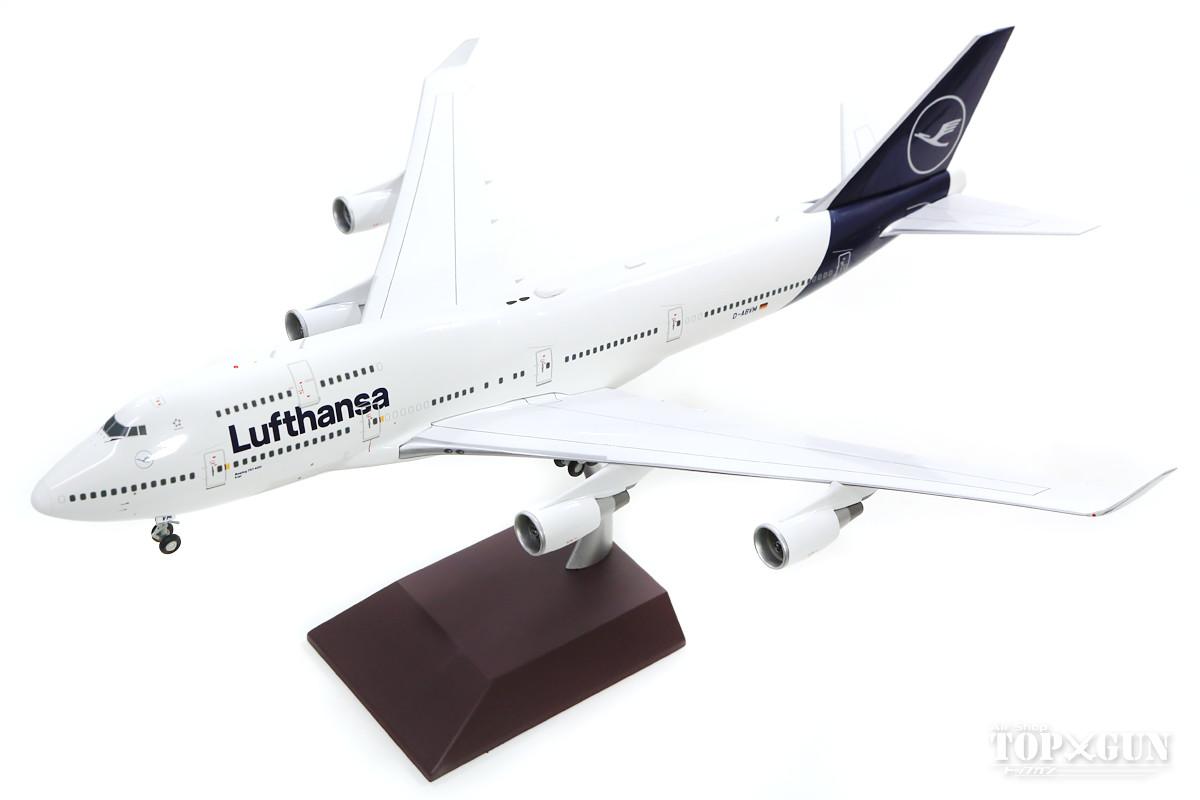 ボーイング 747-400 ルフトハンザ航空 新塗装 D-ABVM 1/200 ※金属製 2019年8月4日発売Gemini200/ジェミニ200飛行機/模型/完成品 [G2DLH792]