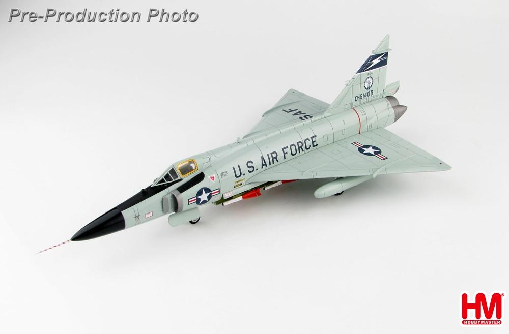 F-102Aデルタダガー アメリカ空軍 フロリダ州空軍 第125戦闘迎撃航空群 第159戦闘迎撃飛行隊 ジャクソンビル・イメーソン基地 60年代 #0-61409 1/72 2019年11月27日発売 Hobby Master/ホビーマスター飛行機/模型/完成品 [HA3112]