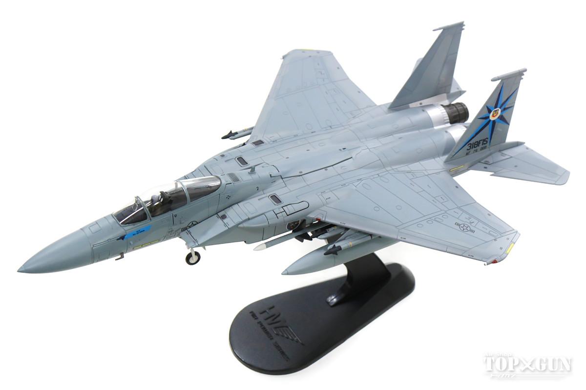 F-15A アメリカ空軍 第318戦闘迎撃飛行隊 「グリーンドラゴンズ」 ウィリアム・テル(戦技競技会)時 マッコード基地・ワシントン州 84年 #76-0008 1/72 2019年12月19日発売 Hobby Master/ホビーマスター飛行機/模型/完成品 [HA4517]