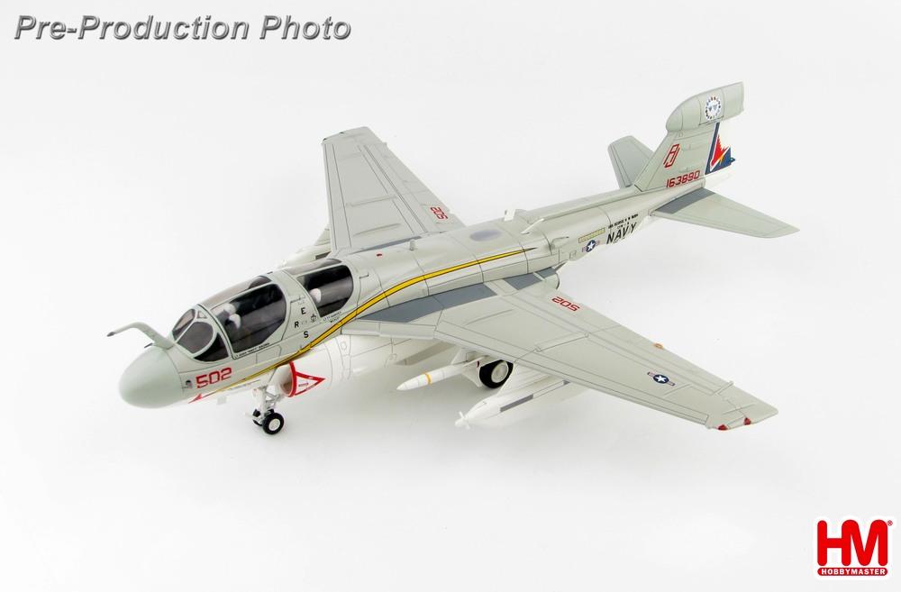 EA-6Bプラウラー アメリカ海軍 第134電子戦飛行隊「ガルーダズ」 特別塗装 「EA-6B退役記念」 15年 AJ502/#163890 1/72 2019年11月6日発売 Hobby Master/ホビーマスター [HA5007]