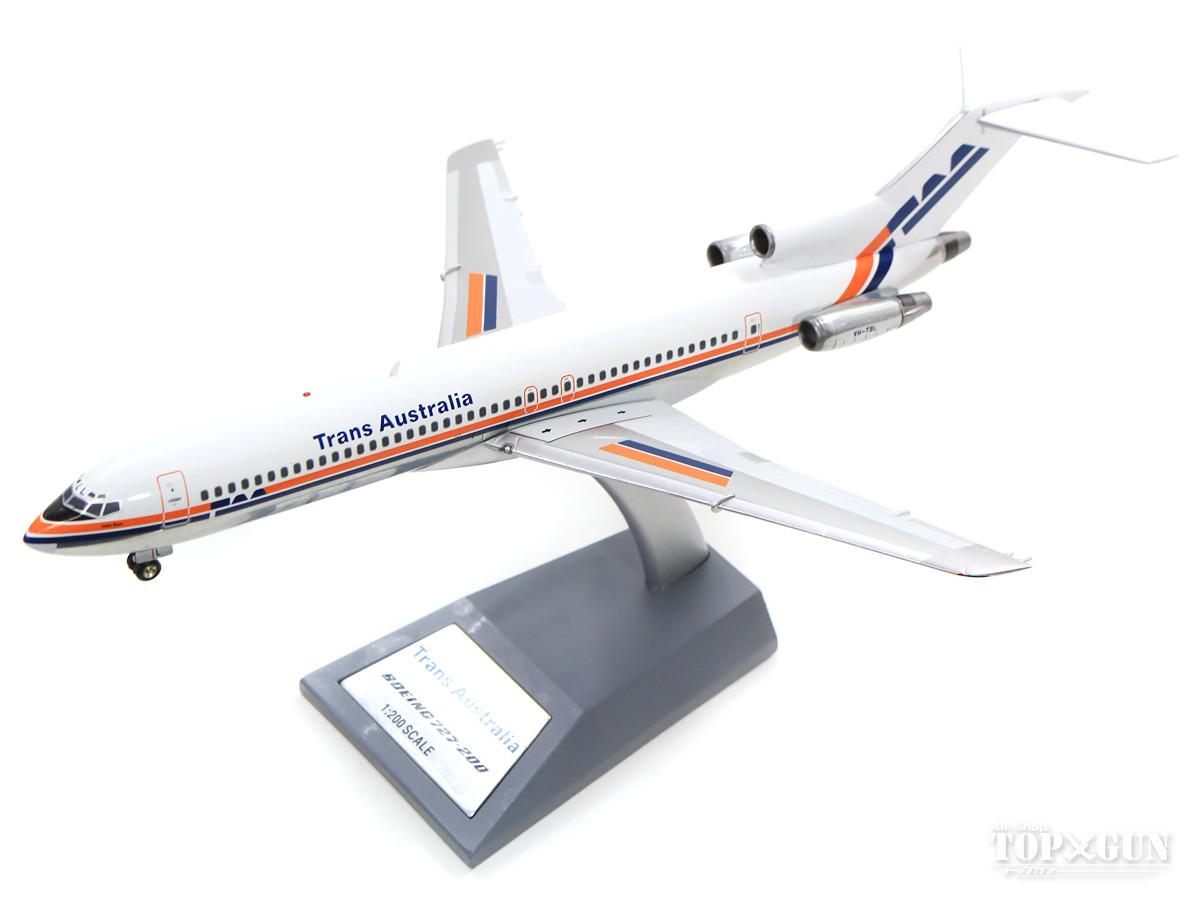 ボーイング 727-200 TAA トランスオーストラリア航空 VH-TBL With Stand 1/200 ※金属製 2019年10月18日発売 InFlight200/インフライト200飛行機/模型/完成品 [IF722TN0519]