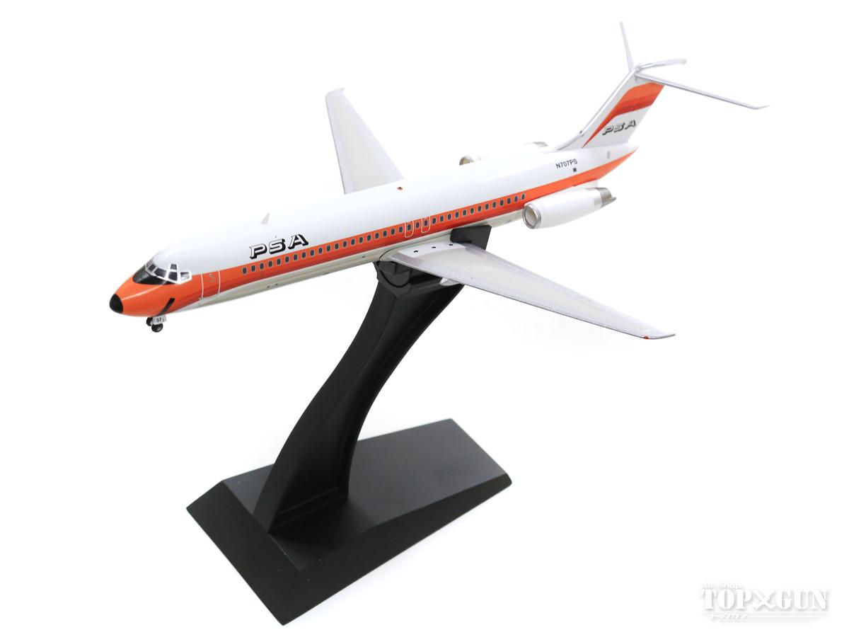 マクドネル・ダグラス DC-9-30 PSA パシフィックサウスウエスト航空 N707PS (スタンド付属) 1/200 ※金属製 2019年12月12日発売 InFlight200/インフライト200 飛行機/模型/完成品 [IFDC0PS0219]