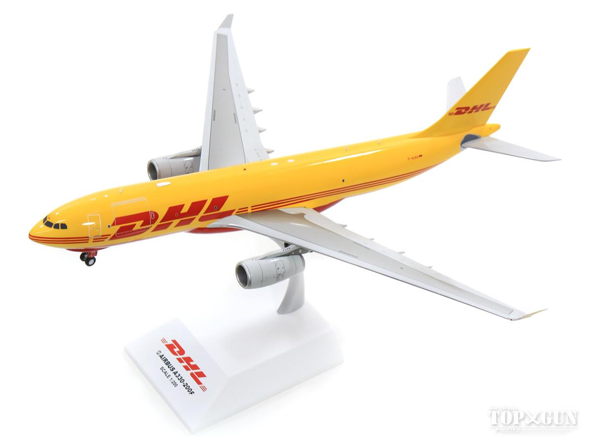 エアバス A330-200F DHL (European Air Transport) D-ALMA (スタンド付属) 1/200 2019年10月18日発売 JCWINGS飛行機/模型/完成品 [LH2155]