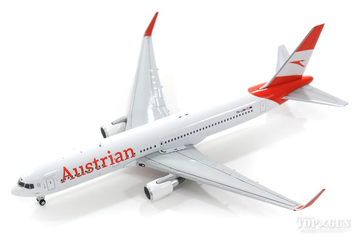 ボーイング 767-300ER オーストリア航空 OE-LAW With Antenna 1/400 2019年11月1日発売JCWINGS飛行機/模型/完成品 [XX4158]