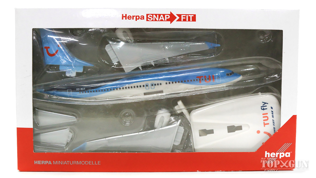 Herpa 611961 Collection  TUI fly Belgium Boeing 737 MAX 8  1:200
