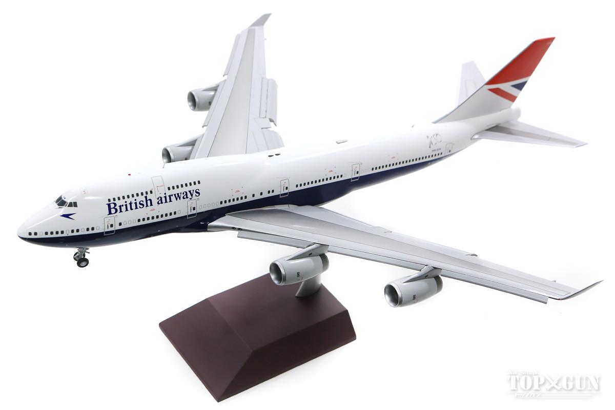 ボーイング 747-400 ブリティッシュエアウェイズ (ニガス塗装) G-CIVB ※フラップダウン状態 1/200 ※金属製 2020年月28日発売Gemini200/ジェミニ200飛行機/模型/完成品 [G2BAW841F]