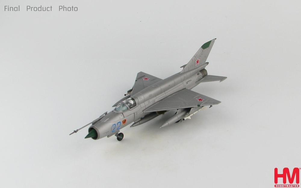MiG-21SMT ソビエト空軍 クラスノダール高等共同航空技術学校 第797訓練飛行連隊 80年代 #22 1/72 2019年9月11日発売 Hobby Master/ホビーマスター飛行機/模型/完成品 [HA0195]