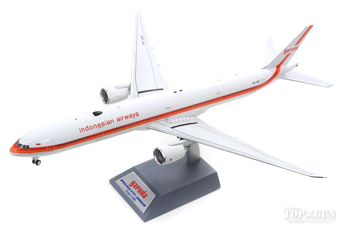 ボーイング 777-300ER ガルーダインドネシア航空 レトロ塗装 PK-GIK (スタンド付属) 1/200 ※金属製 2019年12月28日発売 InFlight200/インフライト200飛行機/模型/完成品 [IF773GA0519]