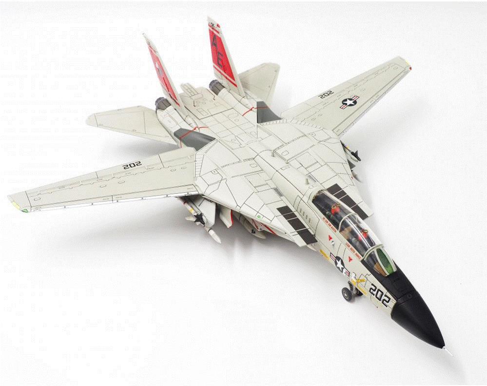 F-14A アメリカ海軍 第31戦闘飛行隊 「トムキャッターズ」 AE202/#161858 1/72 2020年4月22日 Calibre Wings/カリバーウイングス 飛行機/模型/完成品 [CA721412]