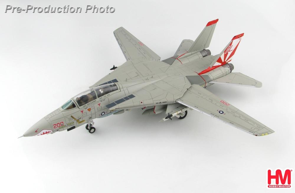 F-14A アメリカ海軍 第111戦闘飛行隊 「サンダウナーズ」 空母カールビンソン搭載 86年 NL200/#160660 1/72 2020年3月19日発売 Hobby Master/ホビーマスター飛行機/模型/完成品 [HA5228]