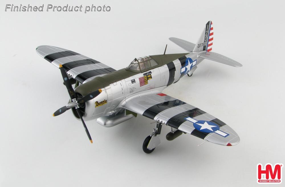 P-47D アメリカ陸軍航空軍 「ボニー」 #42-27884 1/482020年4月15日発売 Hobby Master/ホビーマスター飛行機/模型/完成品 [HA8458]