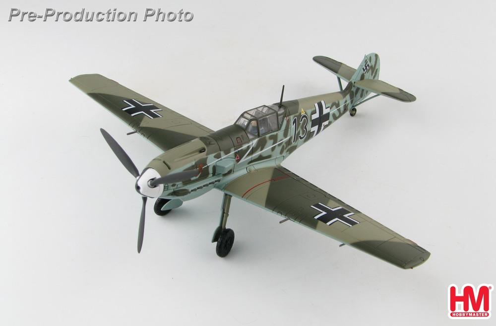 Bf-109E-4 メッサーシュミット 第77戦闘航空団 ブリッツ 2020年3月19日発売 Hobby Master/ホビーマスター飛行機/模型/完成品 [HA8713]