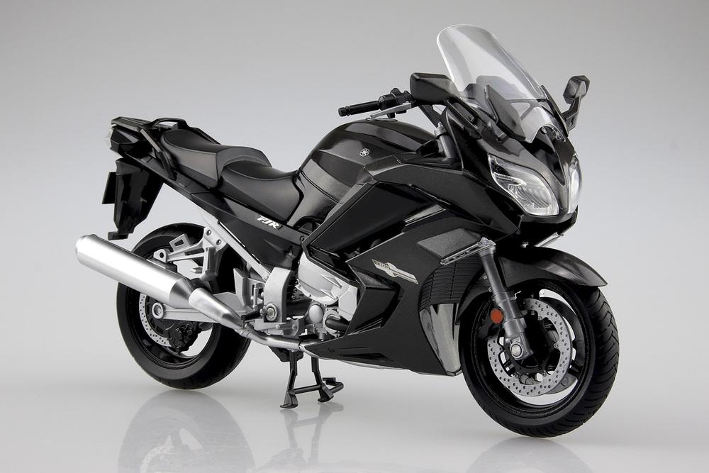 ミニカー 現金特価 バイク 供え YAMAHA FJR1300A ダークグレーメタリックN 1 AOSHIMA 12 106808 アオシマ