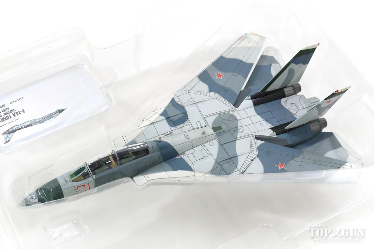 セール開催中最短即日発送 Calibre Wings F-14A アメリカ海軍 第126戦闘飛行隊 バンディッツ 仮想敵機迷彩 91年 #159855 #31 飛行機 2020年8月25日 72 模型 CA72TP01B 完成品 ウェザリング塗装版 1 カリバーウイングス オンライン限定商品