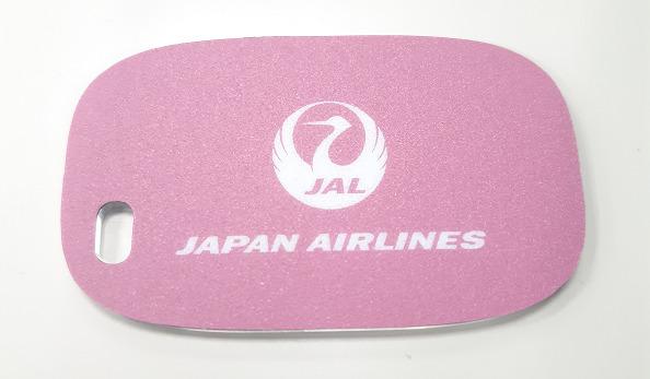 【メール便対応商品】 JAL CAミラー チェリーピンク JALUX 飛行機/グッズ [BJK16004]