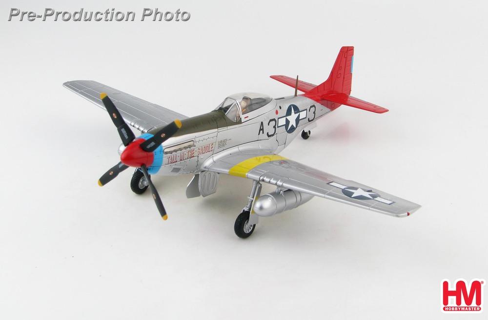 Hobby Master 店頭受取対応商品 P-51K マスタング ブランド激安セール会場 テイル イン ザ 数量は多 ホビーマスター飛行機 サドル 48 2020年11月20日発売 模型 1 完成品 HA7745