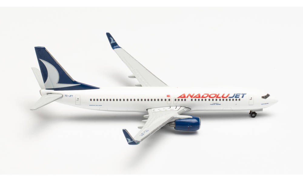 激安 激安特価 送料無料 herpaWings 店頭受取対応商品 737-800 アナドルジェット航空 TC-JFT Kastamonu 1 2021年8月27日発売 ヘルパ 飛行機 模型 535113 500 完成品 ファッション通販