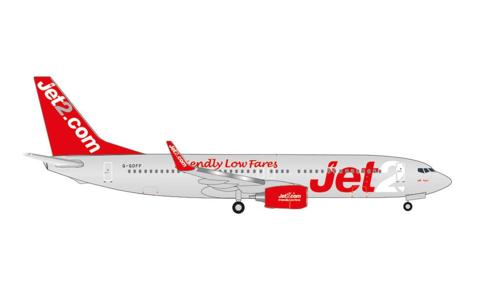 herpaWings 店頭受取対応商品 737-800 Jet2 ジェットツー Paris G-GDFP 1 2021年8月27日発売 ヘルパ 500 完成品 着後レビューで 送料無料 535137 オーバーのアイテム取扱☆ 模型 飛行機