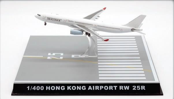 JC WINGS スーパーセール 香港国際空港 滑走路 25R 今だけスーパーセール限定 ディスプレイケース 完成品 400 大幅値下げランキング 1 FWDP-SC-4036 模型 飛行機 2021年3月6日発売