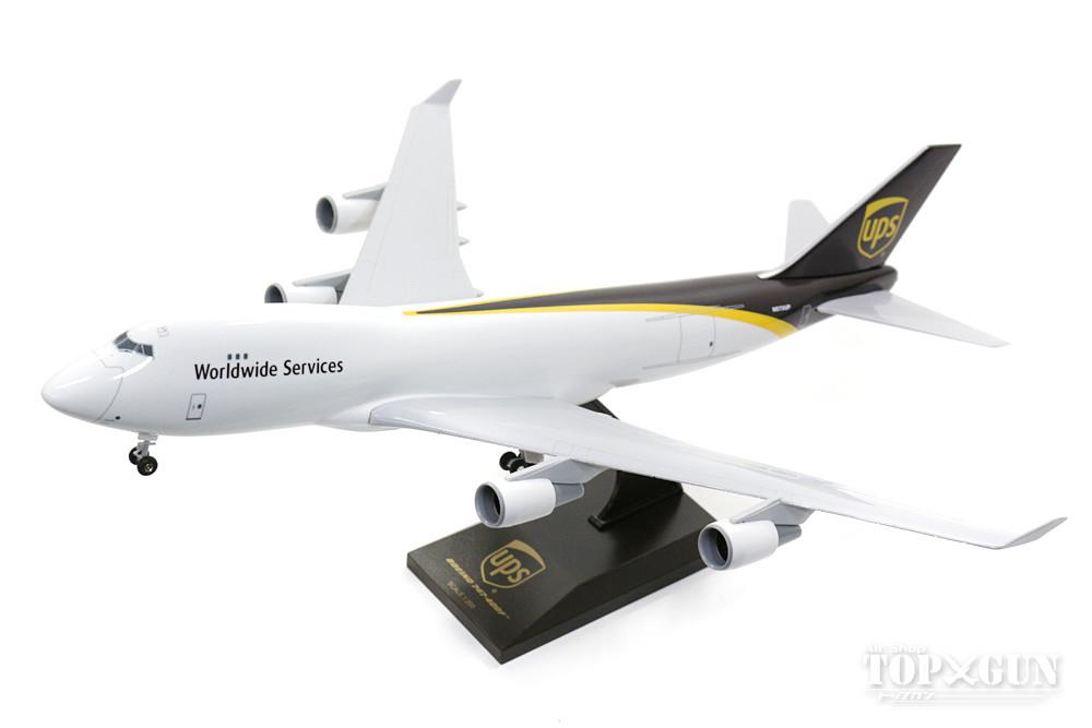 747-400F(貨物機) UPS ユナイテッド・パーセル・サービス N570UP (ギア/スタンド付属) 1/200 ※プラ製 2017年9月21日発売 Skymarks/スカイマークス 飛行機/模型/完成品 [SKR484]