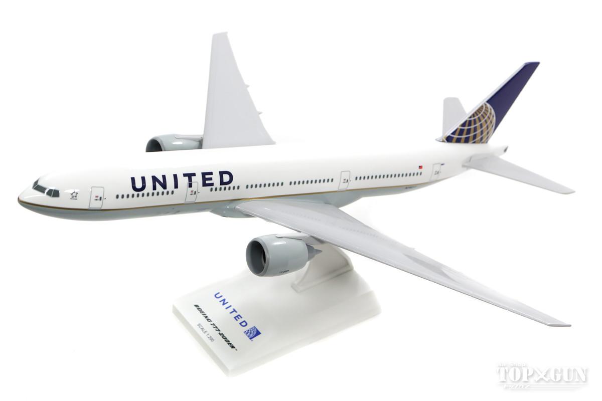 777-200ER ユナイテッド航空 N79011 (ギアなし/スタンド付属) 1/200 ※プラ製 2018年4月25日発売 Skymarks/スカイマークス 飛行機/模型/完成品 [SKR597]