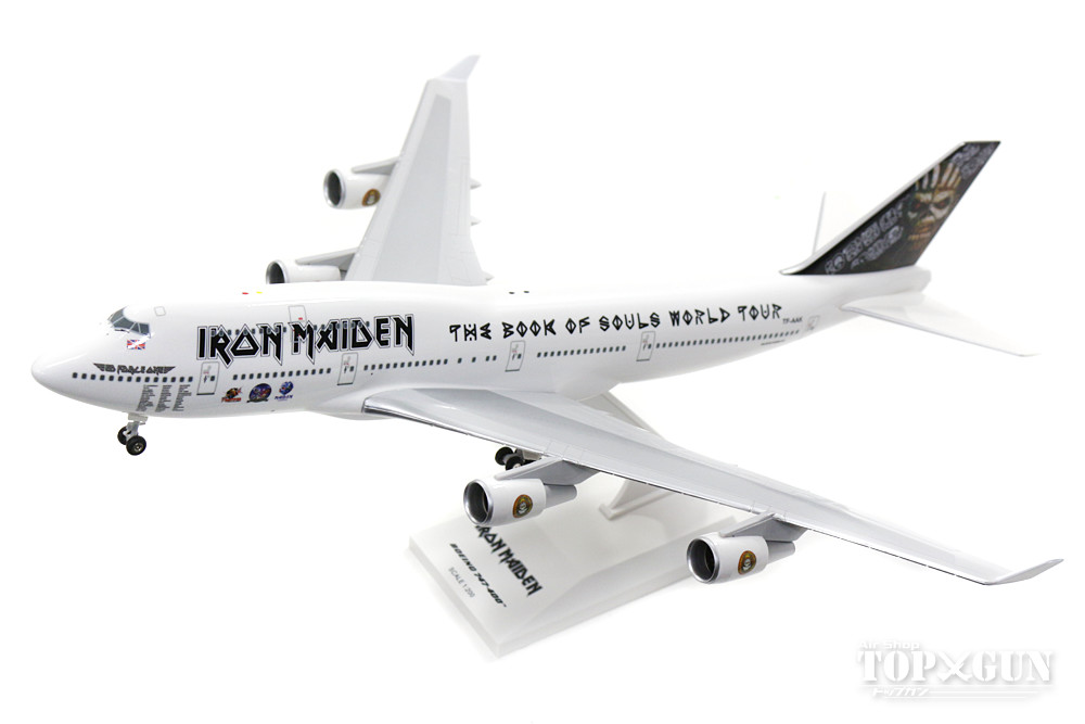 747-400 アイアンメイデン 「エド・フォース・ワン」 TF-AAK (ギア/スタンド付属) 1/200 ※プラ製 2017年9月21日発売 Skymarks/スカイマークス 飛行機/模型/完成品 [SKR899]