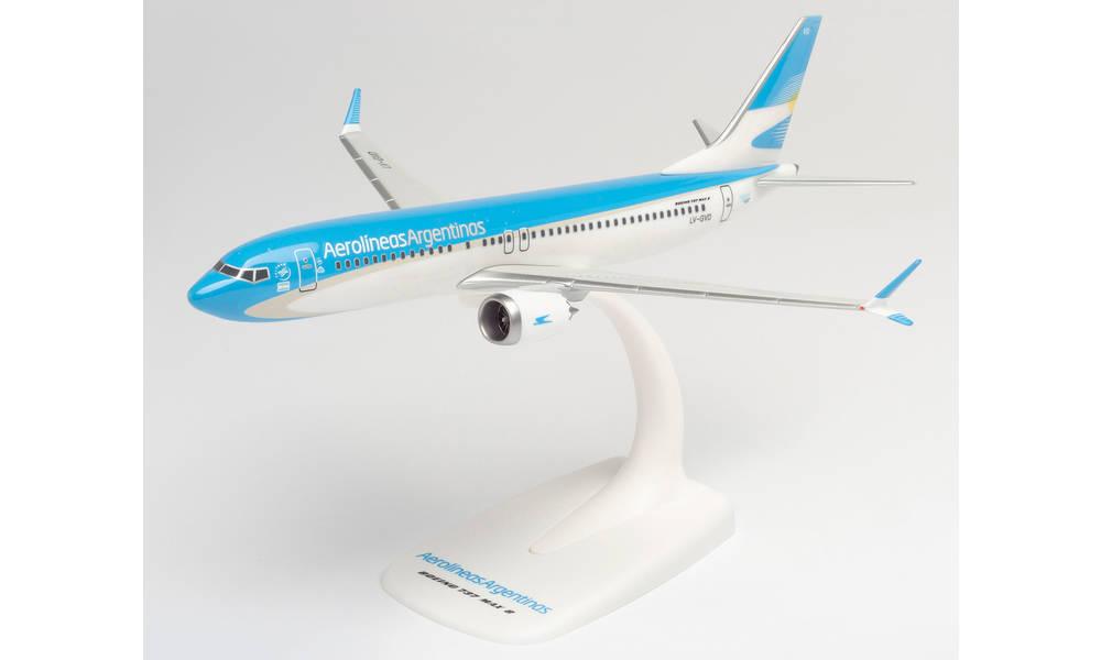 herpaWings 737Max 8 アルゼンチン航空 LV-GVD スナップインモデル 価格交渉OK送料無料 スタンド仕様 ランディングギアなし オンラインショッピング 1 ※プラ製 200 模型 ヘルパ 完成品 2021年1月6日発売 飛行機 612715