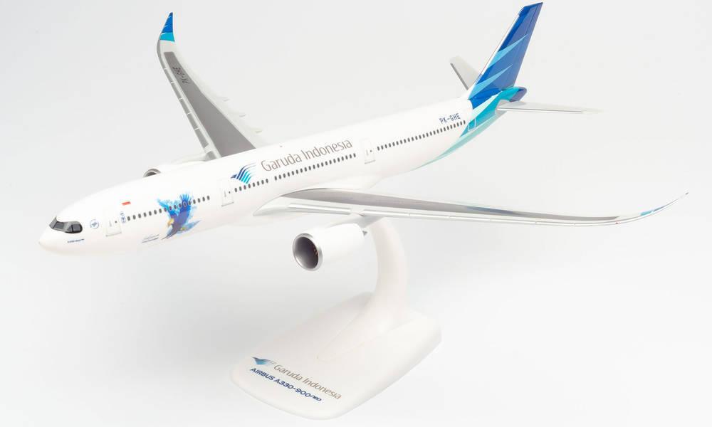 herpaWings A330-900neo ガルーダインドネシア航空 PK-GHE スナップインモデル スタンド仕様 ランディングギアなし 1 完成品 飛行機 模型 200 高級品 2021年6月1日発売 613132 通販 ヘルパ ※プラ製