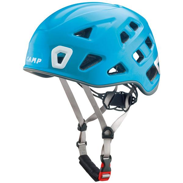 軽量で快適なヘルメット カンプ CAMP ストーム 48-56cm 宅配便送料無料 5245705 定番 ライトブルー Sサイズ