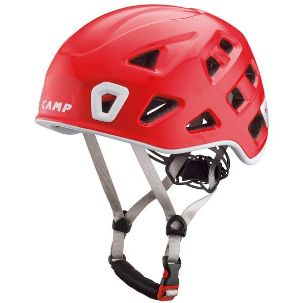 軽量で快適なヘルメット カンプ 年中無休 CAMP ストーム 品質保証 Lサイズ レッド 5245708 54-62cm