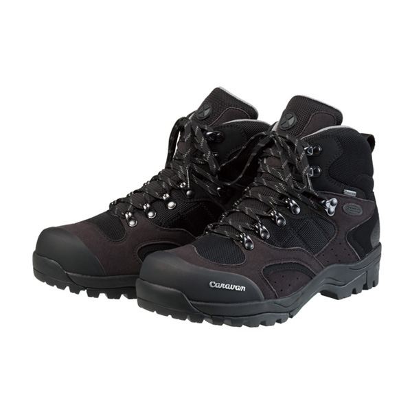 キャラバン c1-02s ブラック/シルバー 25.5cm 0010106-941