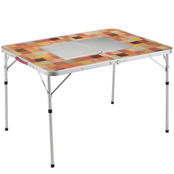 コールマン Coleman ナチュラルモザイク BBQテーブル/110プラス 2000026760