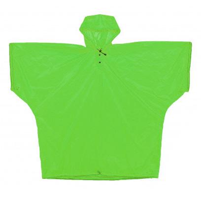 イスカ ISUKA ウルトラライト シリコン ポンチョ グリーン 275302