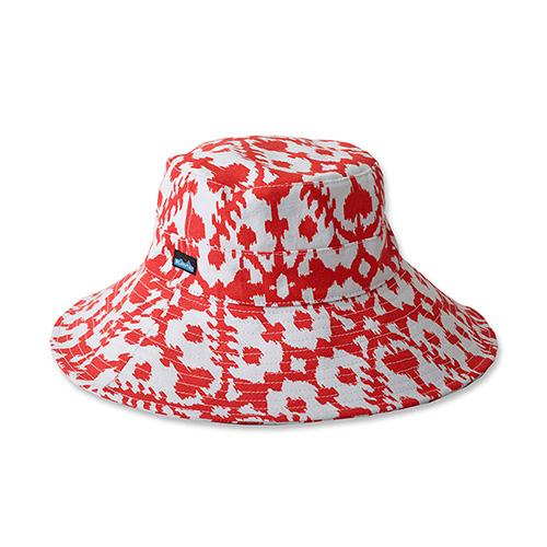 ツバの広いコットン100%の帽子 カブー KAVU マリーロウ Lサイズ 美品 ホットブロット 日本製 19810221034007