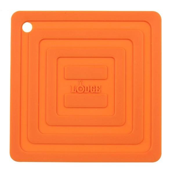 ロッジ LODGE シリコン スクエア ポットホルダー AS6S オレンジ 19240094005000