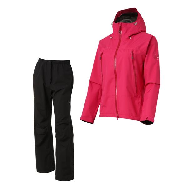 マムート レインスーツ Women Climate Rain-Suit Women マムート マゼンタ/ブラック レインスーツ ユーロMサイズ(日本L)1010-26560-3421, 那賀川町:08af71d2 --- officewill.xsrv.jp