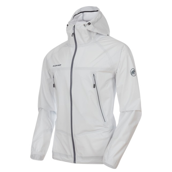 マムート Masao Light HS Hooded Jacket AF Men ホワイト Sサイズ(日本M)1010-27100-0001