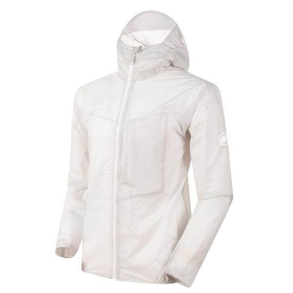 マムート Kento Light HS Hooded Jacket AF Men ブライトホワイト Mサイズ(日本L)1010-27740-00229