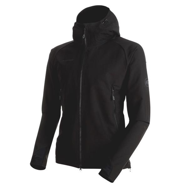 マムート Runbold Trail SO Hooded Jacket AF Men ブラック ユーロMサイズ(日本L)1011-23001-0001
