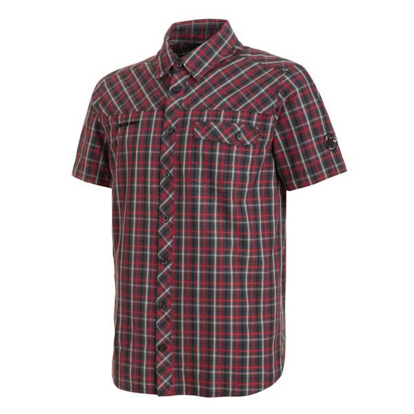 マムート MAMMUT Asko Shirt AF Men グラファイト/マグマ ユーロSサイズ(日本M)1015-00230-00101