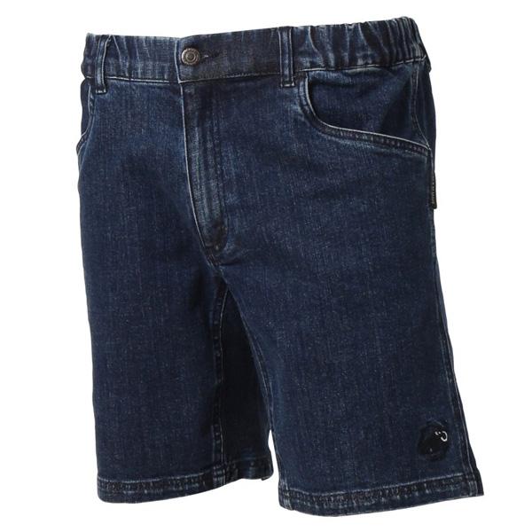 マムート CHALK Boulder Shorts Men チョークボルダーショーツ ブルーデニム ユーロXSサイズ(日本S)1023-00080-5818
