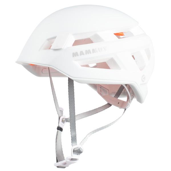 超軽量で通気性の高いクライミングヘルメット 人気の定番 マムート 人気 おすすめ Crag Sender 56-61cm ホワイト 2030-00260-0243 Helmet