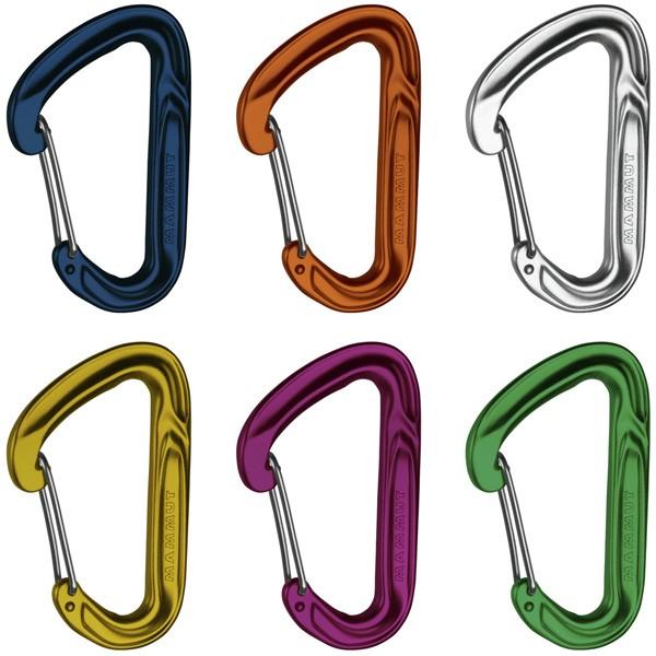 マムート カラビナ Wall Light Sixpack Wire Gate 23g 2210-01680-1199