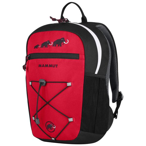 マムート 子供用バックパック First Zip 16L ブラック/インフェルノ 2510-01542-0575