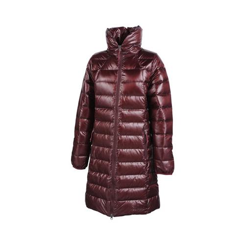 マーモット ダウンロングコート W's Urushi Down Coat ワインレッド Mサイズ MJD-F4533W