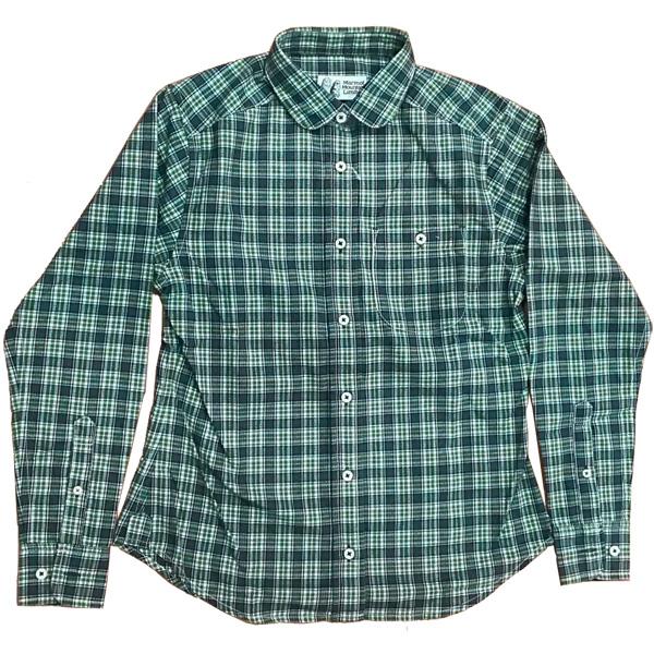 マーモット Marmot ウィメンズトラッドロングスリーブシャツ AFLT Mサイズ MJS-F4579W
